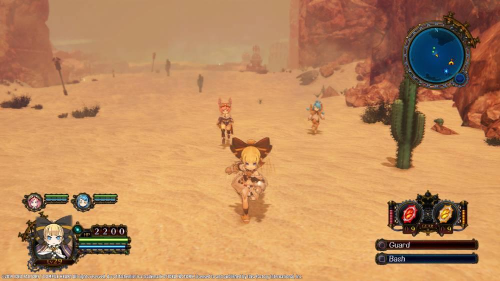 Screenshot de Arc of Alchemist