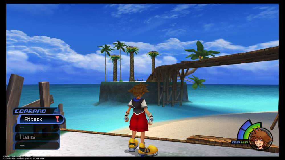 Screenshot de Kingdom Hearts Final Mix