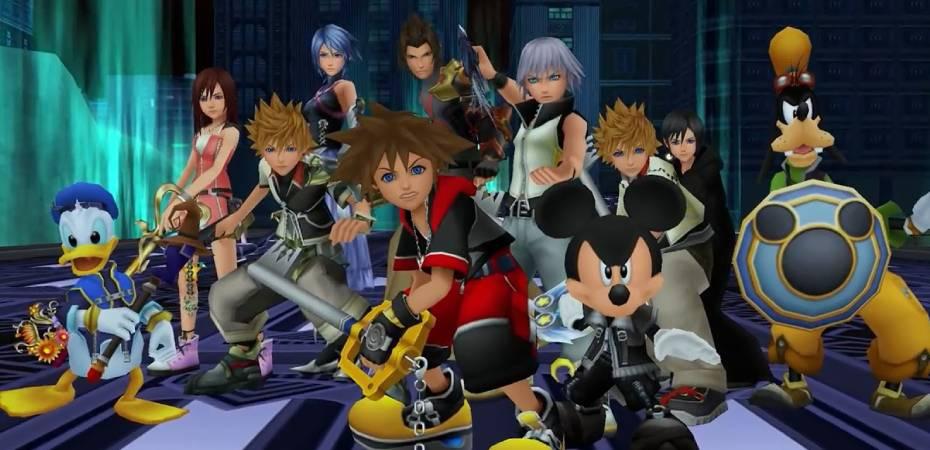 Jogos da série <i>Kingdom Hearts</i> chegarão ao Xbox One em 2020