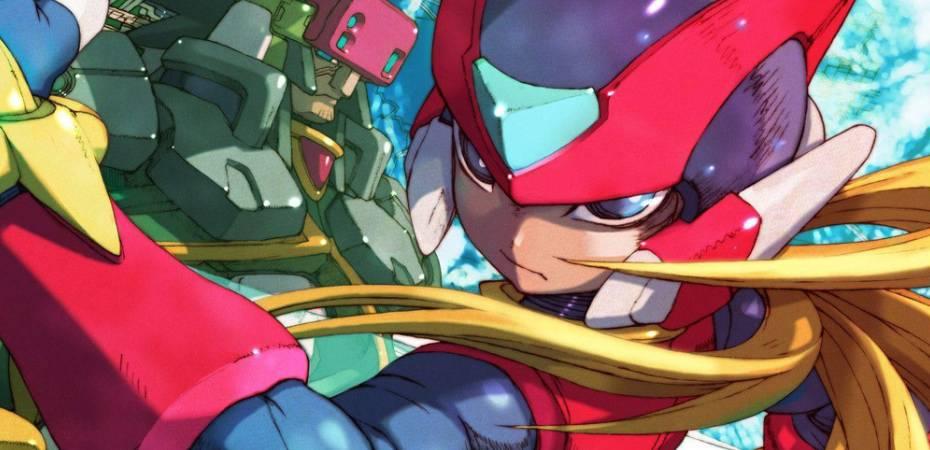 Arte de Mega Man Zero 4