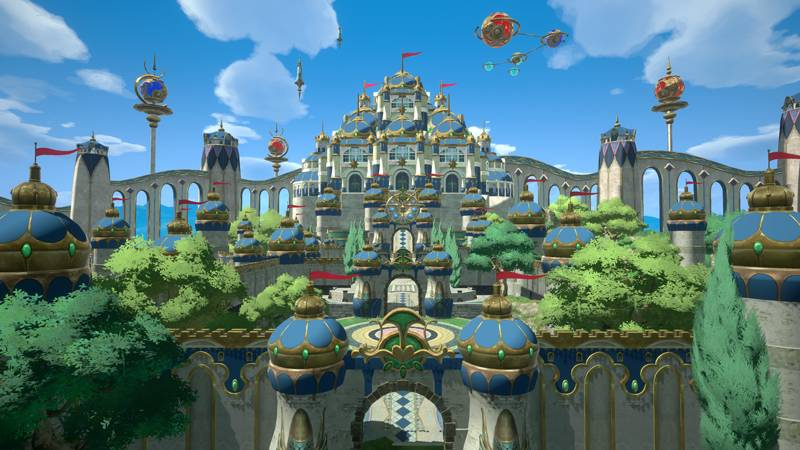 Screenshot de Ni no Kuni: Cross Worlds