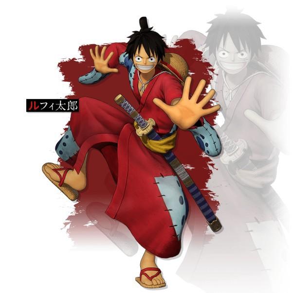 "Traje ""Luffytaro"" de One Piece: Pirate Warriors 4"