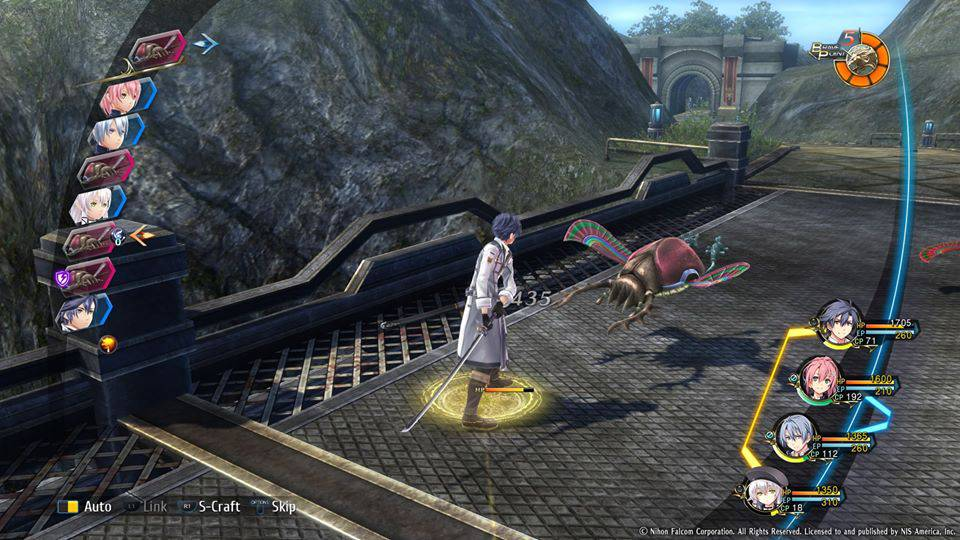 Screenshot de The Legend of Heroes: Trails of Cold Steel III