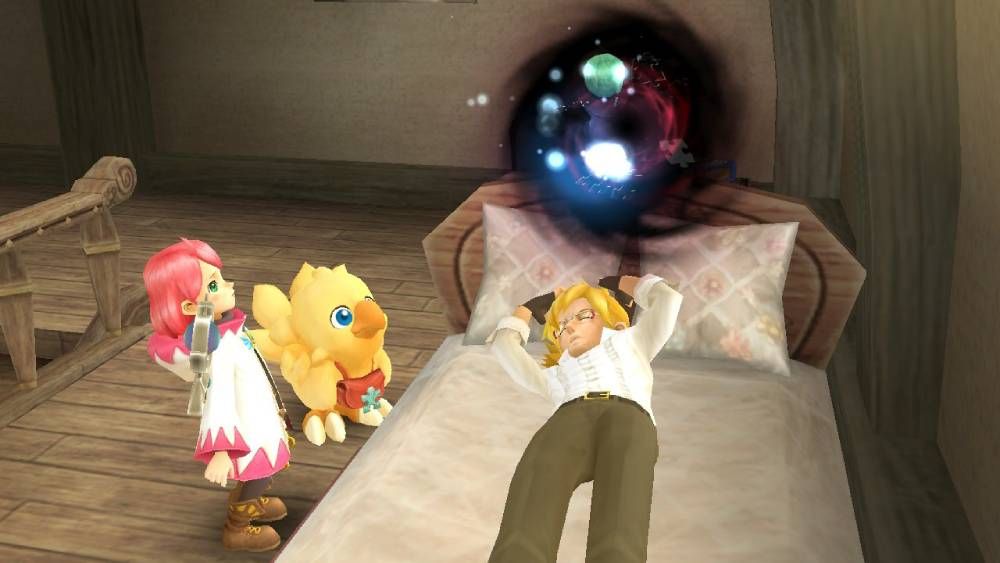 Screenshot de Chocobo's Mystery Dungeon: Every Buddy
