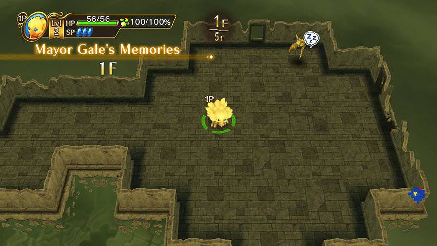 Screenshot de Chocobo's Mystery Dungeon
