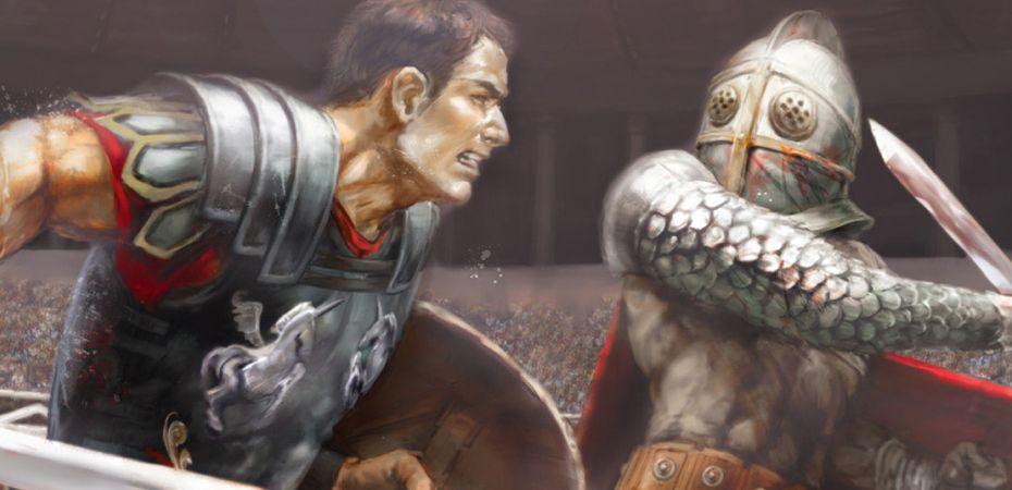 Arte de Gladiator Begins
