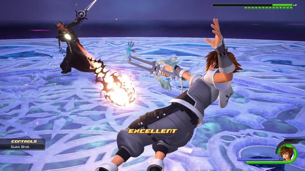 Screenshot de Kingdom Hearts III