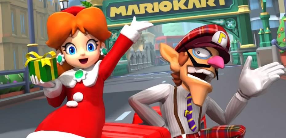 Atualização de Mario Kart Tour adiciona pista de Londres e mais
