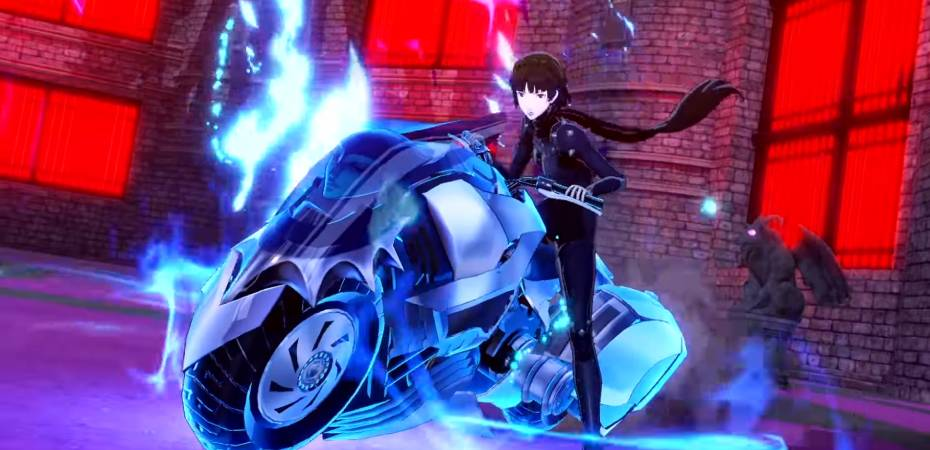 Screenshot de Persona 5 Scramble: The Phantom Strikers