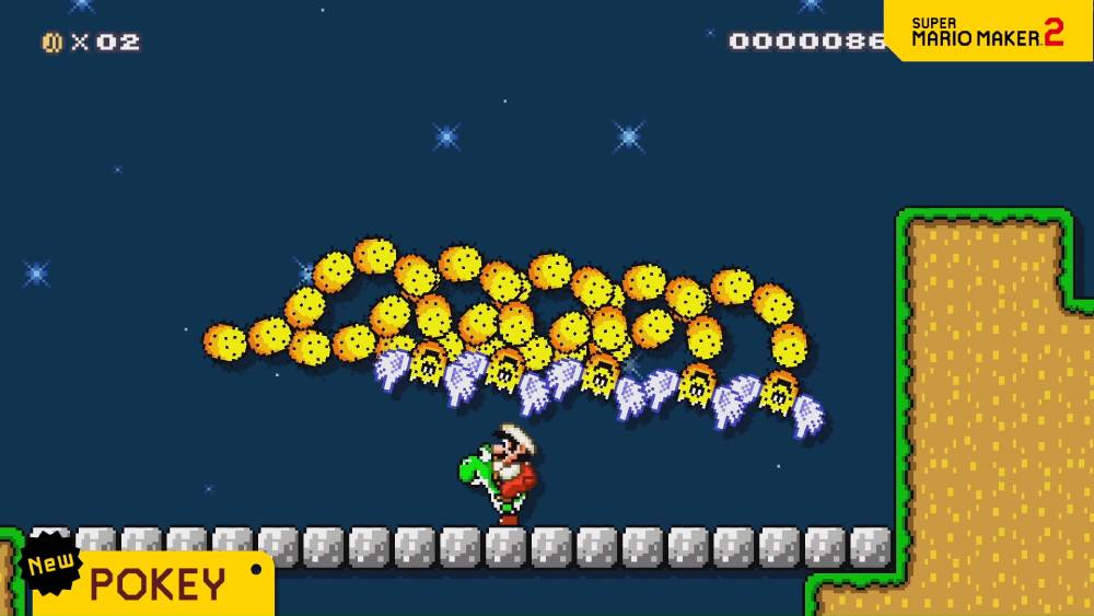 Captura de tela de trailer de Super Mario Maker 2