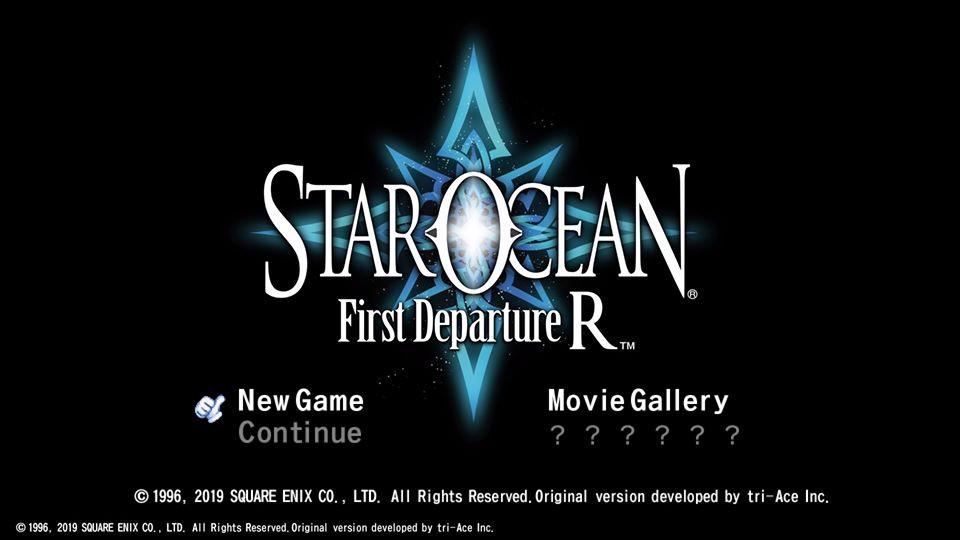 Screenshot de Star Ocean: First Departure R