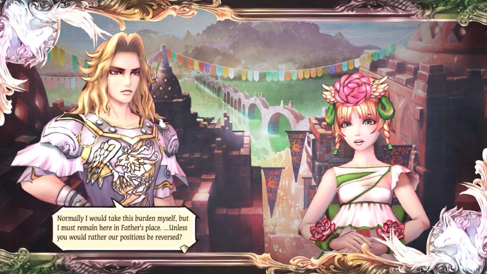 Screenshot de SaGa: Scarlet Grace - Ambitions