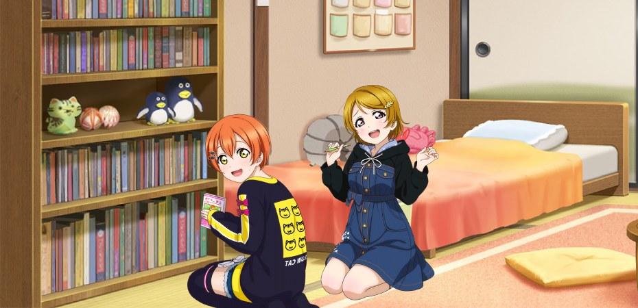 Love Live! Hanayo e Rin