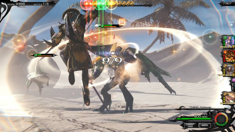 Screenshot de Mobius Final Fantasy