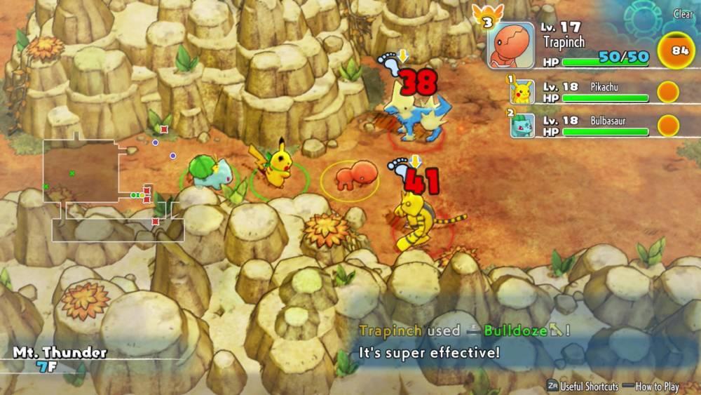 Screenshot de Pokémon Mystery Dungeon: Rescue Team DX
