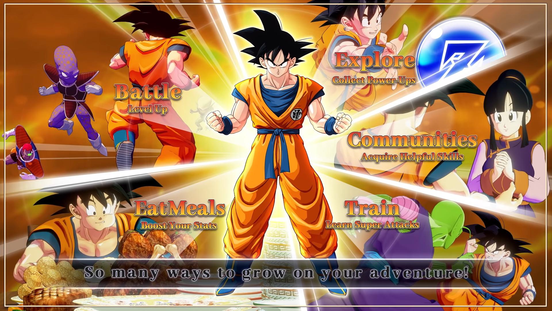 Dragon Ball Z: Kakarot Atividades