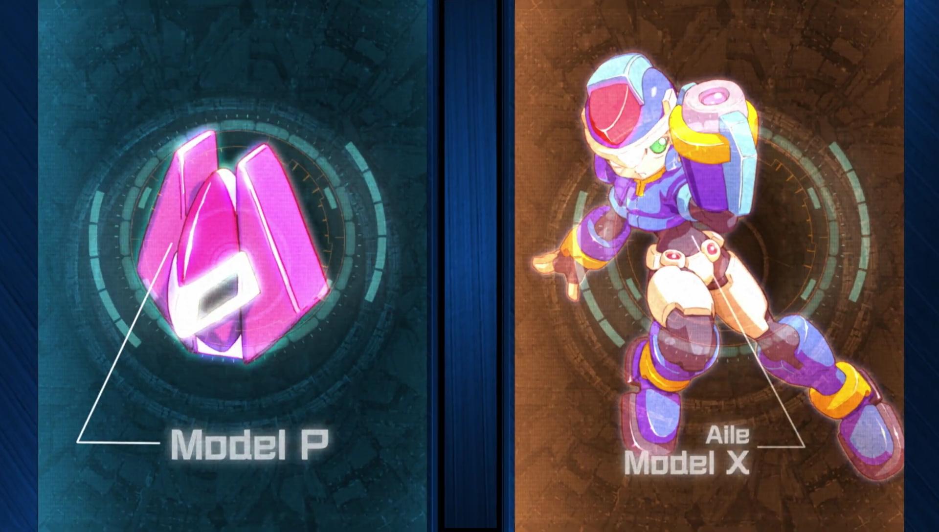 Mega Man Zero/ZX Model X