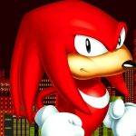 Arte de Knuckles da série Sonic the Hedgehog