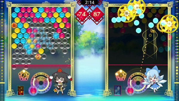 Screenshot de Touhou Spell Bubble