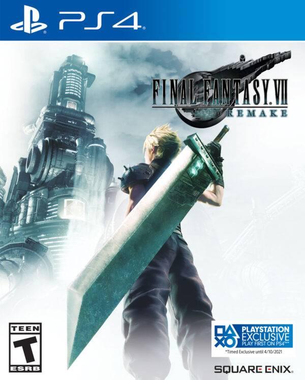 Capa de Final Fantasy VII Remake