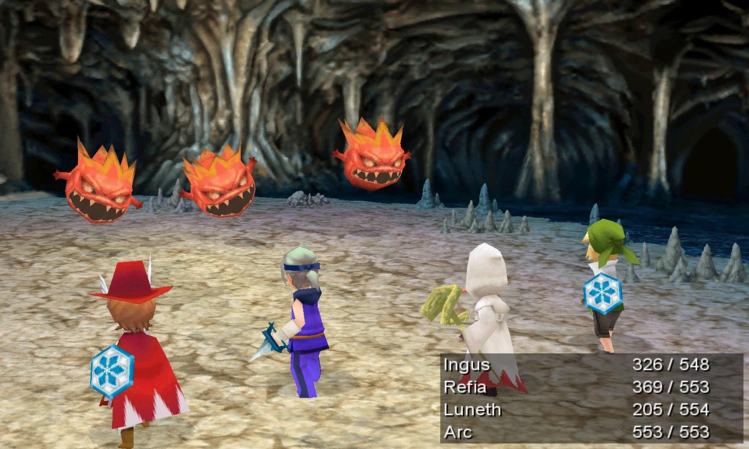 Final Fantasy III Luta