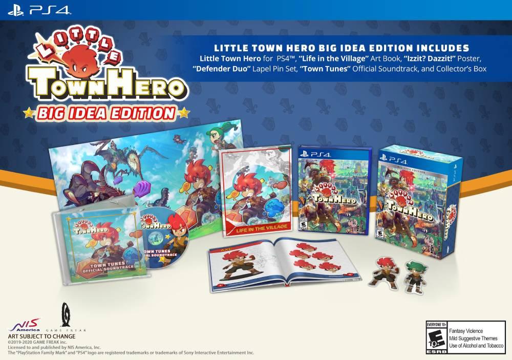 Edição especial física de Little Town Hero