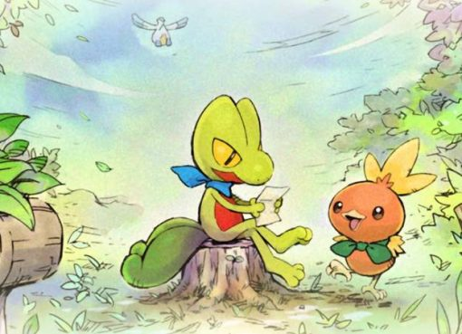 Arte de Pokémon Mystery Dungeon: Rescue Team DX