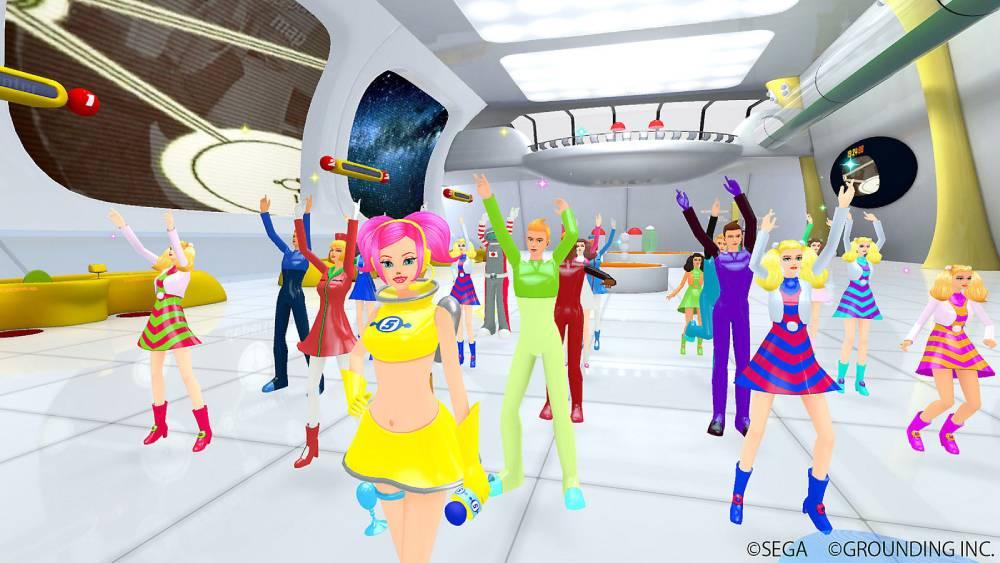 Screenshot de Space Channel 5 VR