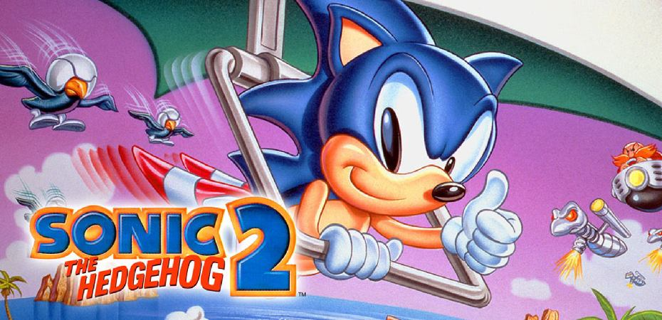 Sonic The Hedgehog 2 capa