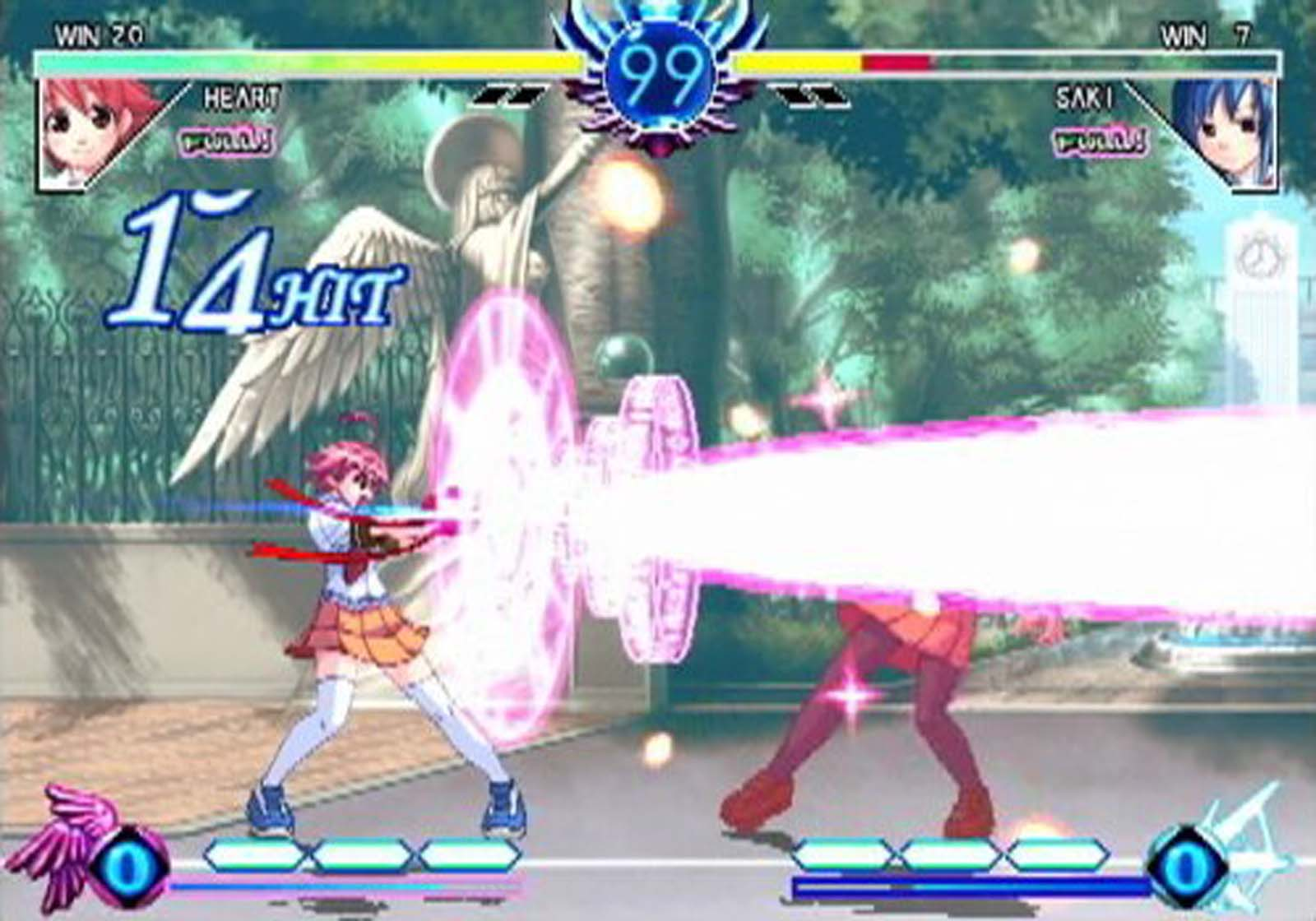 Examu Arcana Heart gameplay