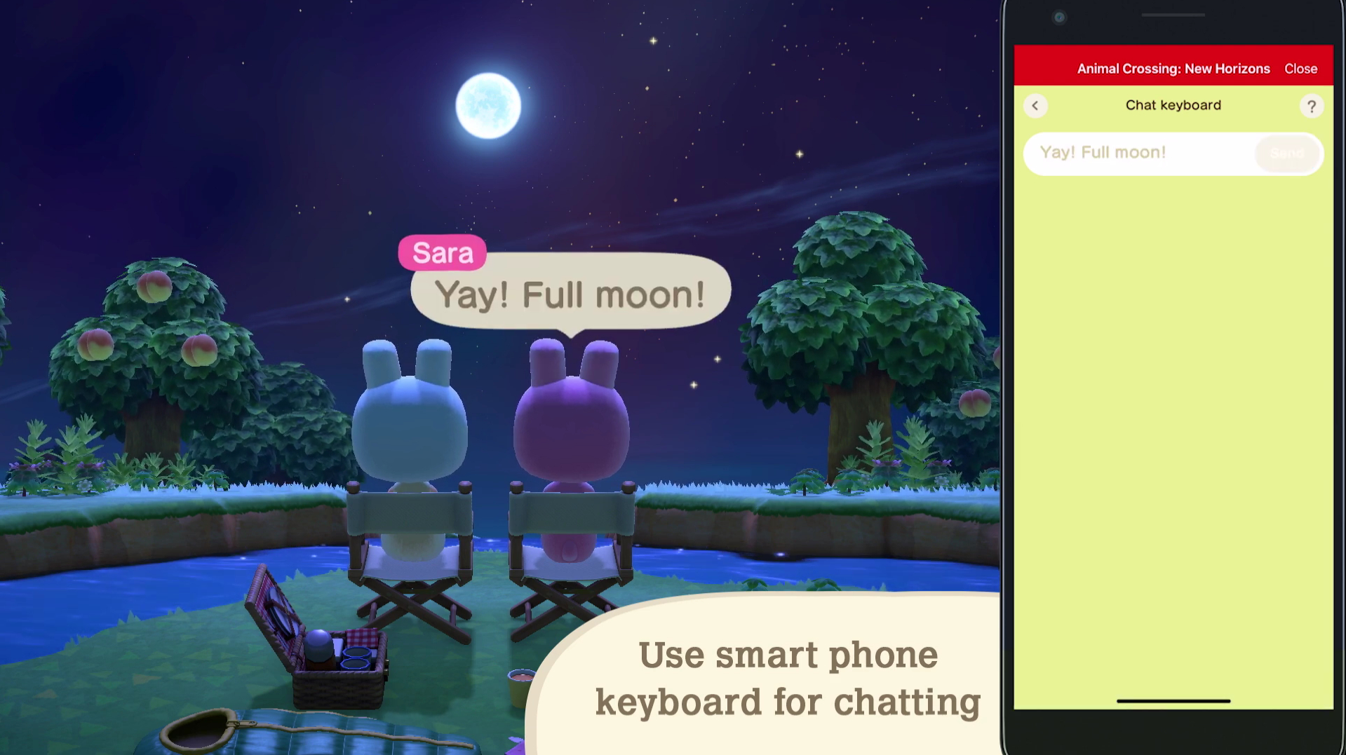 Animal Crossing Chat