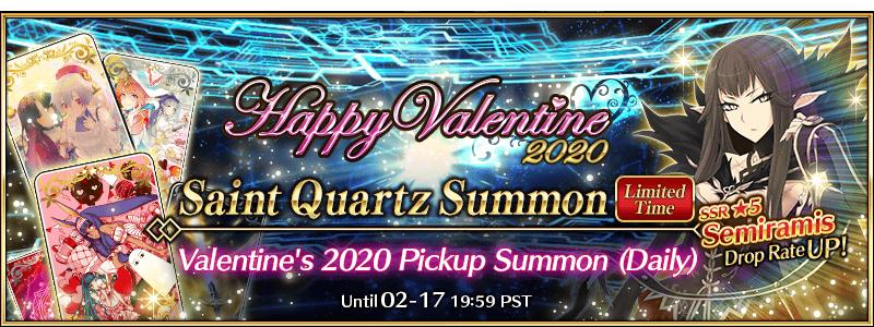 Fate/Grand Order Valentine