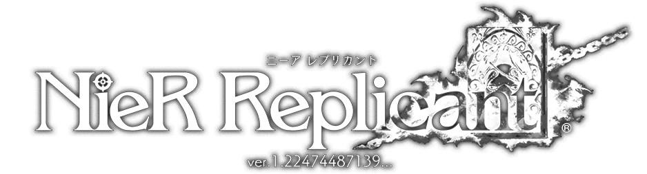 Logotipo de NieR Replica ver.1.22474487139...