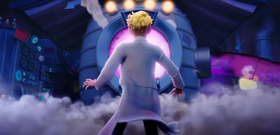 Captura de tela da web-série animada de Ninjala