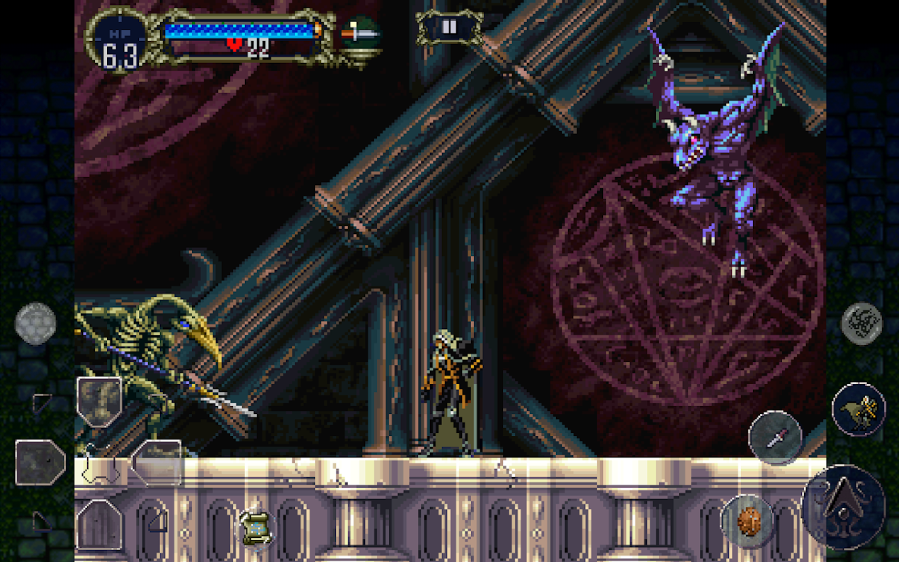 Symphony of the Night Gameplay