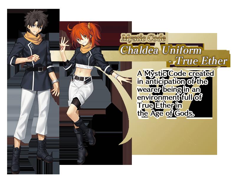Fate/Grand Order Uniforme
