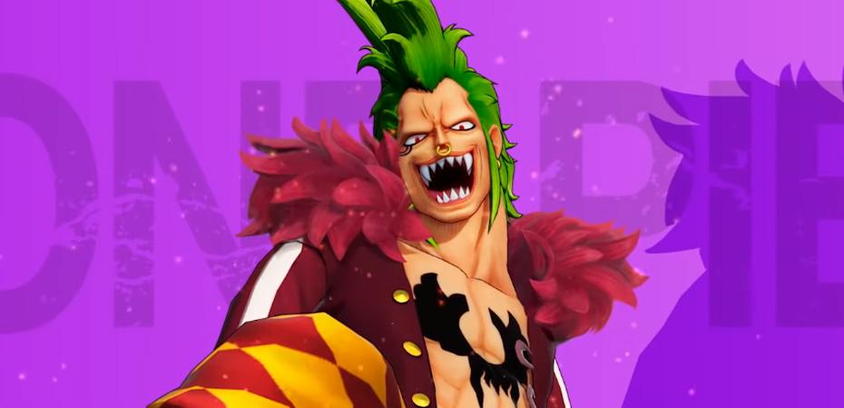 Bartolomeo em One Piece: Pirate Warriors 4