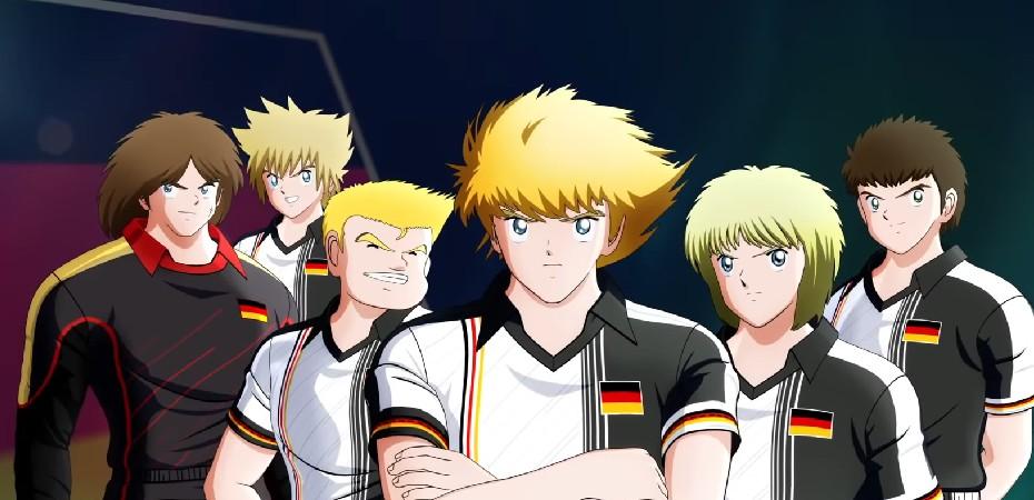 Captain Tsubasa Alemanha