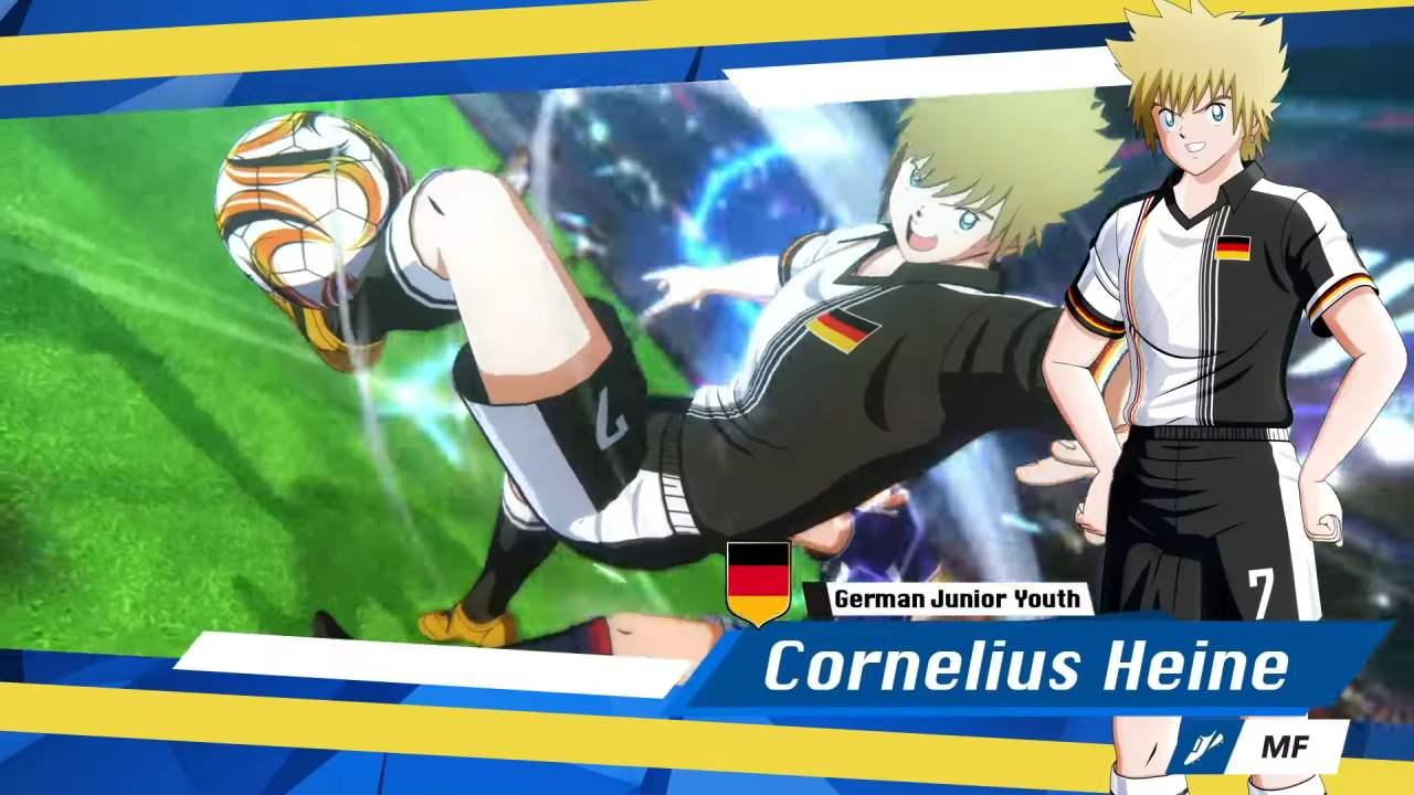 Captain Tsubasa Cornelius Heine