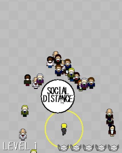 Screenshot de Social Distance: The Game