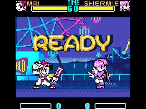 Screenshot de SNK Gals' Fighters