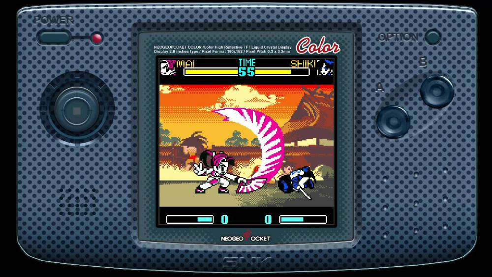 Screenshot de SNK Gals' Fighters