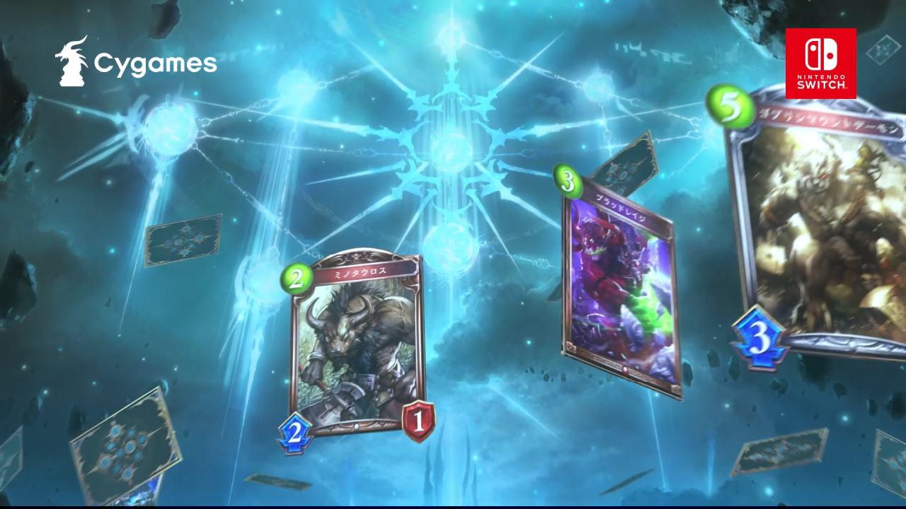 Shadowverse Switch cartas