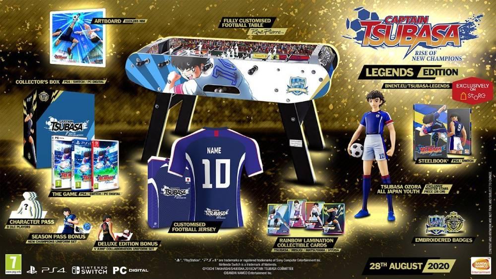 Edição limitada de Captain Tsubasa: Rise of New Champions