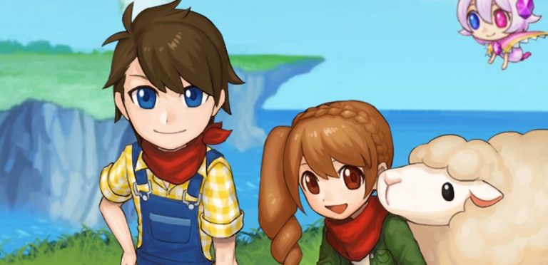 Arte de Harvest Moon: Light of Hope