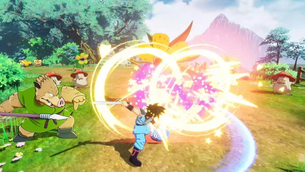 Screenshot de Infinity Strash - Dragon Quest: The Adventure of Dai