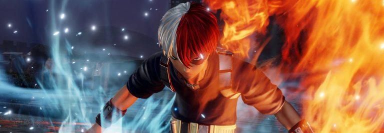 Screenshot de Shoto Todoroki em Jump Force