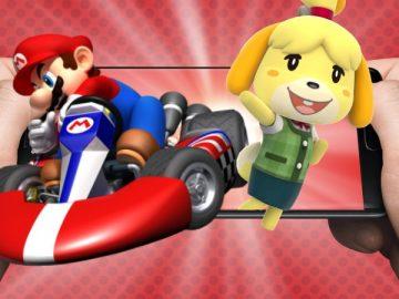 Imagem de personagens da Nintendo