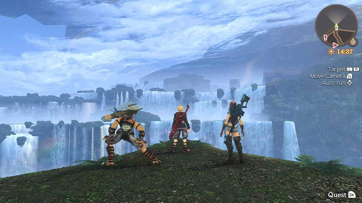 Xenoblade Chronicles Gameplay