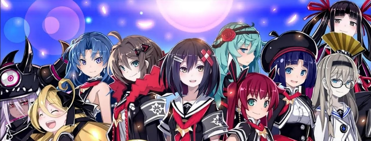Mary Skelter Finale personagens